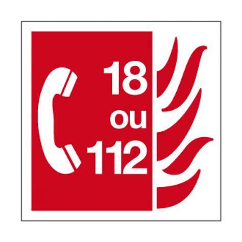 plaque de bureau inc8 picto pvc n appel d 39 urgence pictogramme incendie