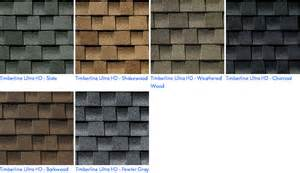 GAF Timberline Roof Shingles Colors