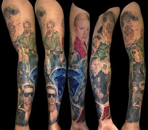 terminator tattoo  theterminatorfanscom