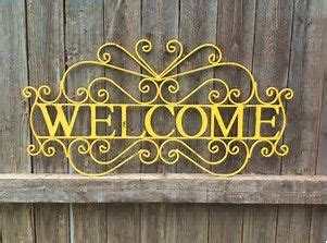 Please Pin All You Like!! | Metal welcome sign, Welcome ...