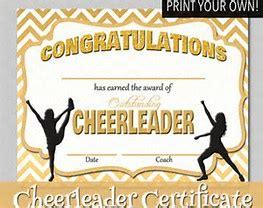 image result   printable cheerleading award