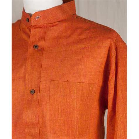 Orange skjorta herr