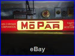 Vintage Mopar Lighted Neon Sign Hemi 440 Direct