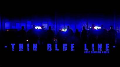 Line Thin Police Lawenforcementtoday Enforcement Law Officer