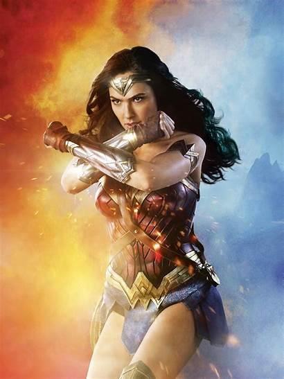Gadot Wonder Gal Woman Dc Comics Diana