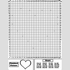 Valentines Day Math Activity Heart Coordinate Graphing Picture Ordered Pairs