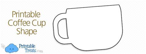Printable Coffee Mug Template ? Printable Treats.com