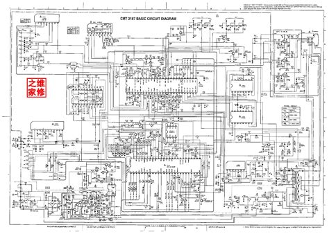 Hitachi Cmt Basic Circuit Diagram Service Manual