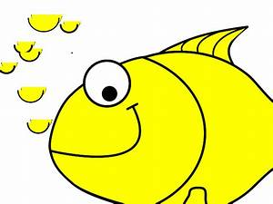 Yellow Fish Clip Art – Cliparts
