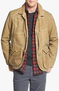 Filson Guide Work Waxed Cotton Jacket in Natural for Men ...