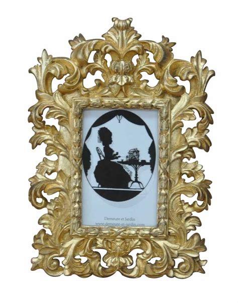 cadre photo baroque dor 233 demeure et jardin