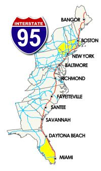 east coast road trip stops great overnight stops i 95 exit guide