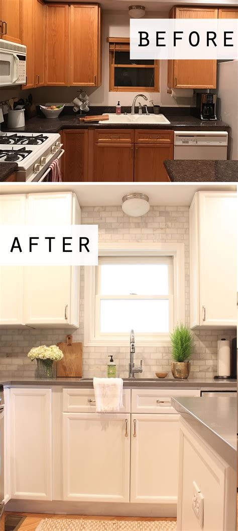 Jen & Tyler's Lincoln Park Condo Kitchen Makeover