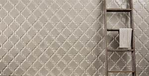 Beveled arabesque glazed ceramic wall tile backsplash tiles for Glazed ceramic tile backsplash