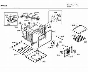 Bosch Hdi7282u  06 Range Parts