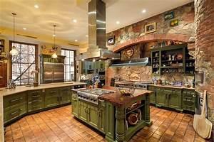 Some, Unique, Luxury, Kitchen, Design, Ideas
