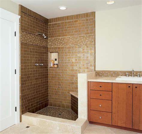 Bathroom Shower Tile Design Ideas by Shower Tile Ideas Corner