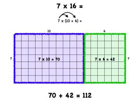 multiplication  division models  strategies