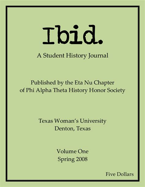 i bid archives ibid a student history journal
