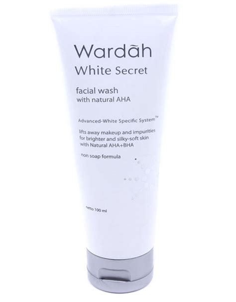 Harga Secret Wash harga wardah white secret wash terbaru 2018 harga
