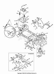 Mtd 13ao785t055  2013  Parts Diagram For Frame  U0026 Pto Lift