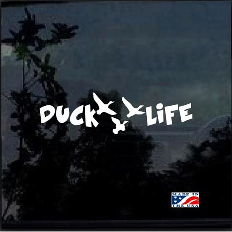 foto de Duck Life A2 Hunting Window Decal Sticker Custom Sticker