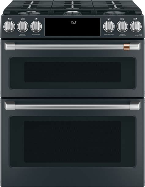 cgspmd cafe    double oven gas range