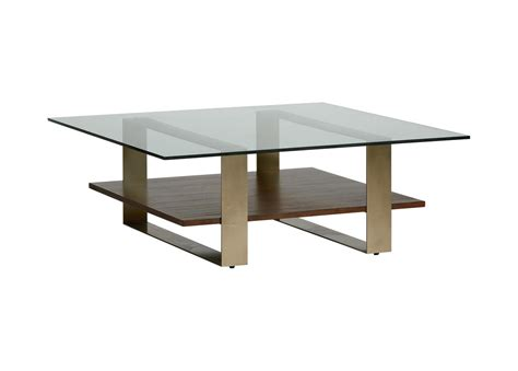 Glass and wood coffee table new home design for conventional, source: Rosemoor Square Glass-top Coffee Table | Ethan Allen
