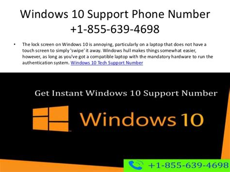 windows help desk phone number windows 10 technical support number 1 855 639 4698