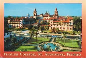 postcardfile: flagler college - ponce de leon hotel