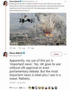 Diane Abbott uses 'fake' Israeli bombing picture for Syria ...