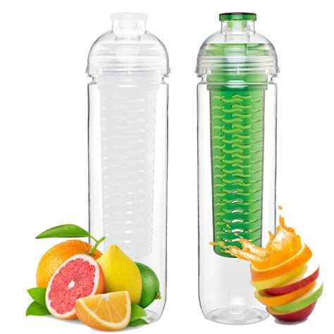 fruit infused water bottles the fresh infuser many