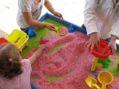 rice activities for preschoolers scented rice sensory play learning 4 410