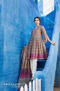 Khaadi Lawn 2017 2 Piece Collection With Price For Girls