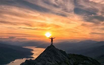 Mountain Sunset Wallpapers During Scotland Travel Ben