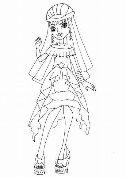 Monster Coloring Pages Wishes Printable Abbey Bominable