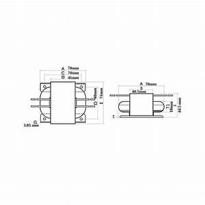 Transformateur R-core 30va 2x15v   2x9v