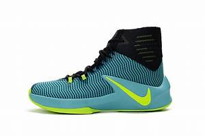 Nike Zoom Clear Out Black Camo Green Basketball Shoes ...