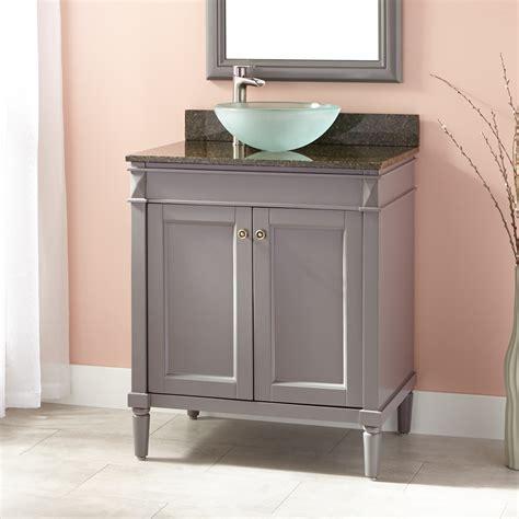 bathroom vanity with vessel sink 30 quot chapman vessel sink vanity gray bathroom
