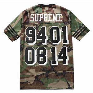Supreme Championship Football Top - Camo – grails sf