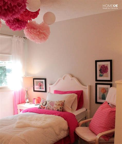 Princess Pink Bedroom Reveal  Home Made By Carmona
