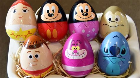 Character Decorated Eggs by Epcot Egg Stravaganza 2016 Disney Characters Easter Egg