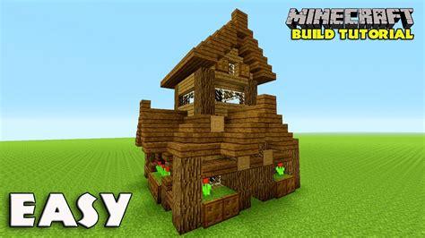 minecraft   build  small survival house tutorial