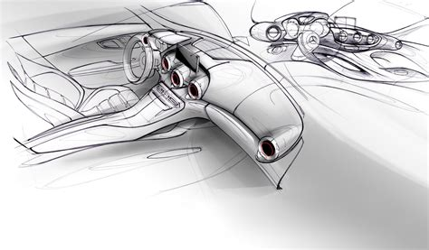 Mercedes Amg Gt Official Sketches Surfaced