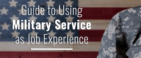 translate military experience   resume