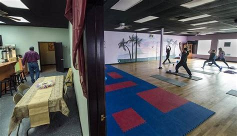 Overland Park Yoga Studio Expands With Coffee Lounge Lavazza Coffee Hyderabad Exfoliating Scrub Soap White Table With Gold Legs Z Gallerie Flavours Square Nz Pods Woolworths Espresso Tierra