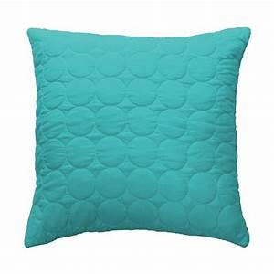 Housse De Coussin Bleu : housse de coussin candy 60x60cm bleu ~ Dailycaller-alerts.com Idées de Décoration