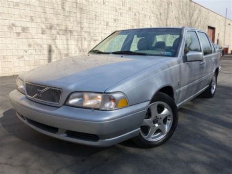 old car owners manuals 2000 volvo s80 windshield wipe control buy used volvo s70 t5 5 speed manual heated seat rebuilt engine new timing kit no reserve in