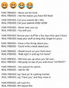 Best friends vs fake friends | True | Pinterest | Fake ...