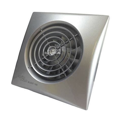 envirovent sil100ss quotsilentquot extractor fan with matt